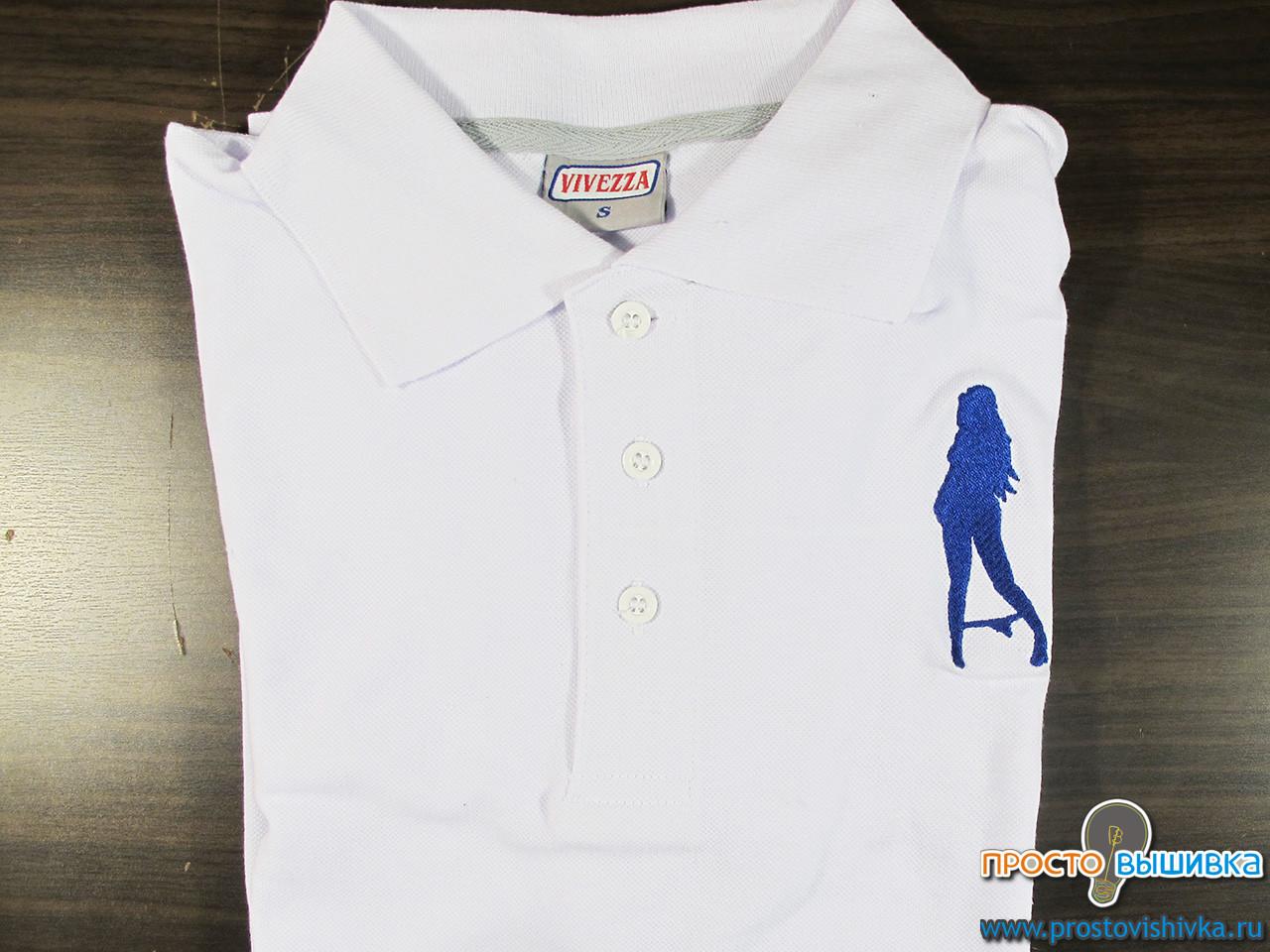 Вышивка на рубашке для девушки