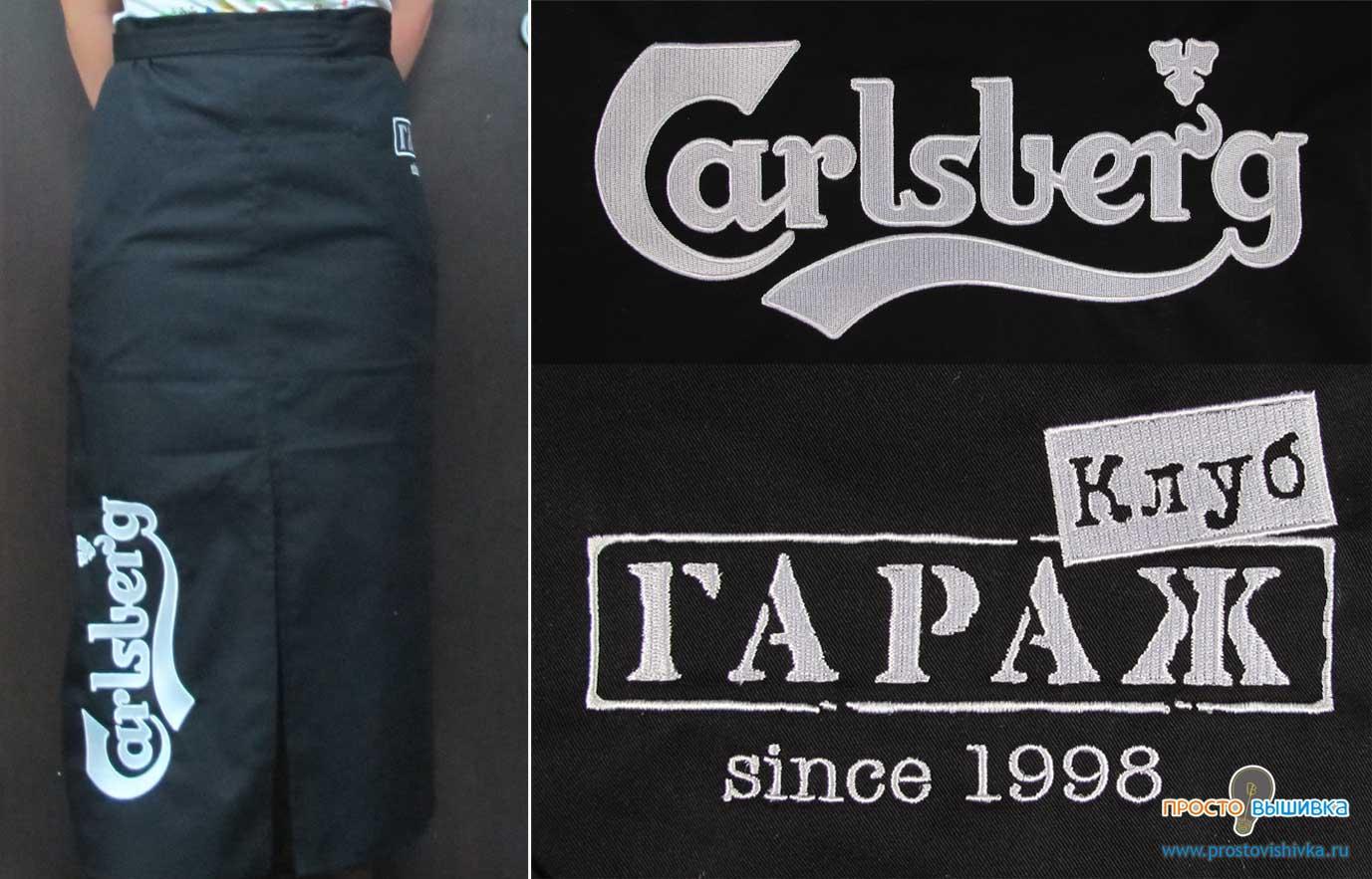 Вышивка логотип на одежде цены